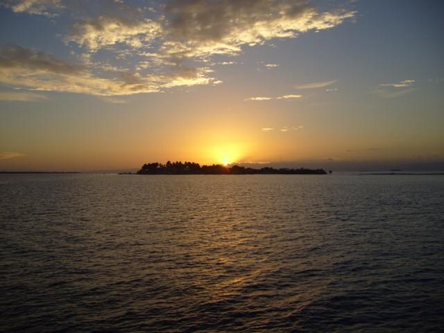セブの夕日