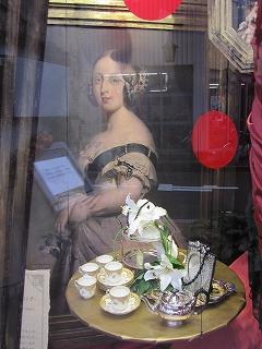 若いヴィクトリア女王