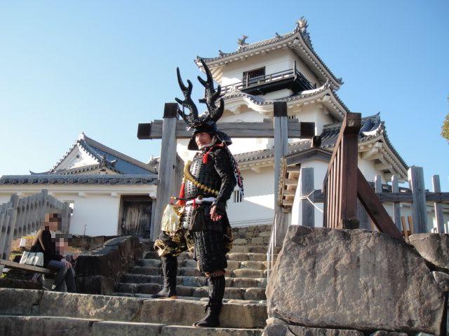 掛川城・侍