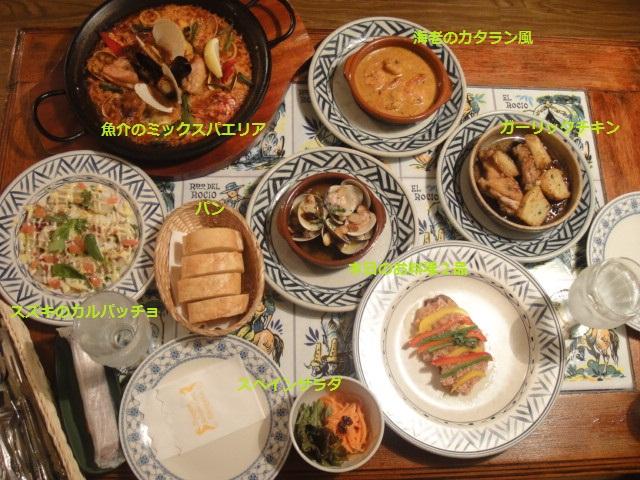 サングリア料理