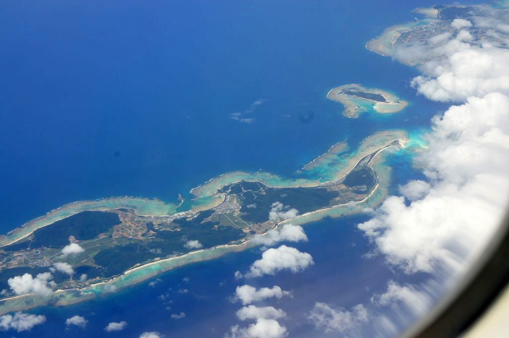 飛行機からの景色3