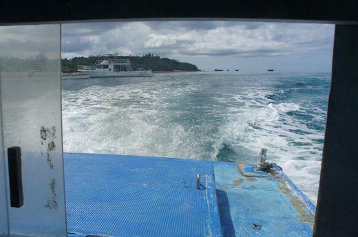 川平湾・グラスボート