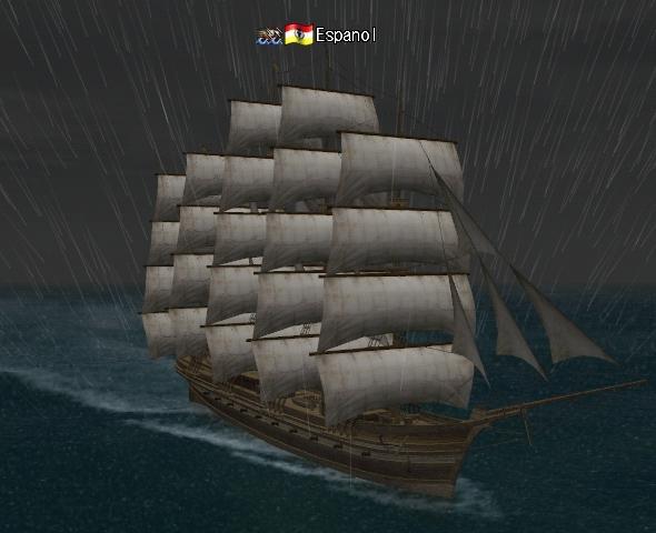 嵐の中を航海