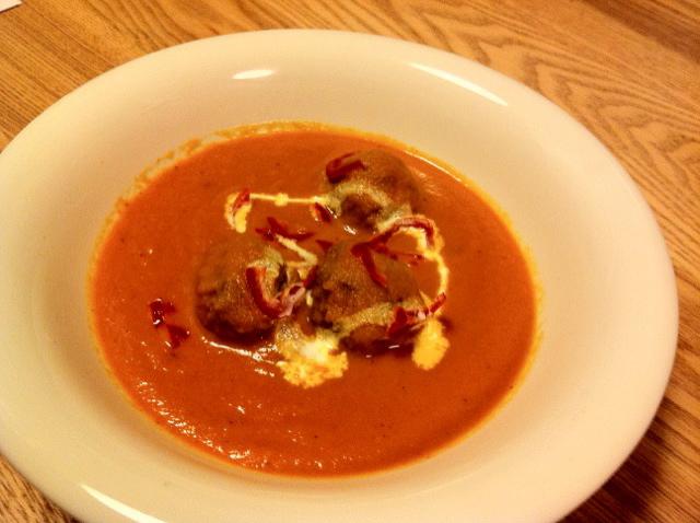 ハバネロと肉団子のスープ