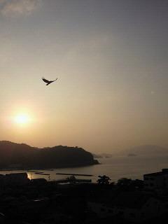 小浜の夕陽