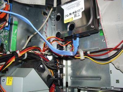 HP d330 ST 内部 HDD付近