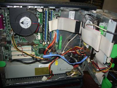 HP d330 ST 内部全体