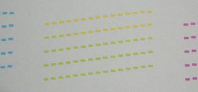 印刷品質(ノズルチェック)