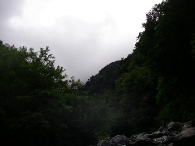 南アルプスー福川遡行(湯折~小渋川~福川~百間洞~赤石岳~椹島H19・8・28~30) 054