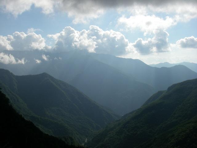 塩見岳~雪投沢~東俣(H19.10.6~8) 009