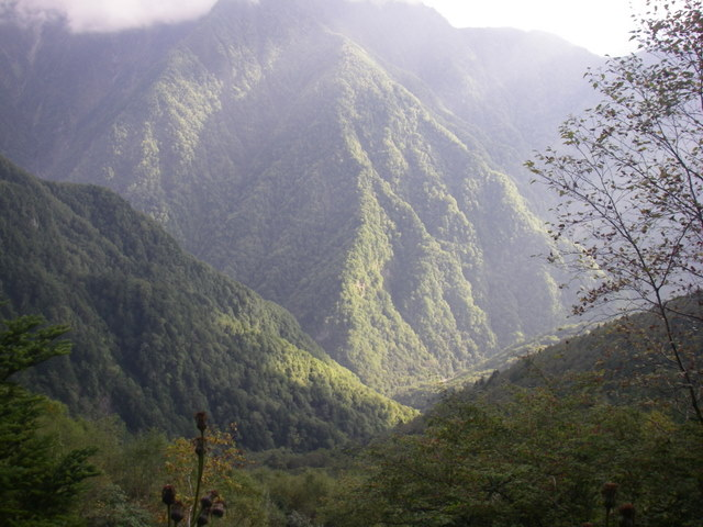塩見岳~雪投沢~東俣(H19.10.6~8) 017