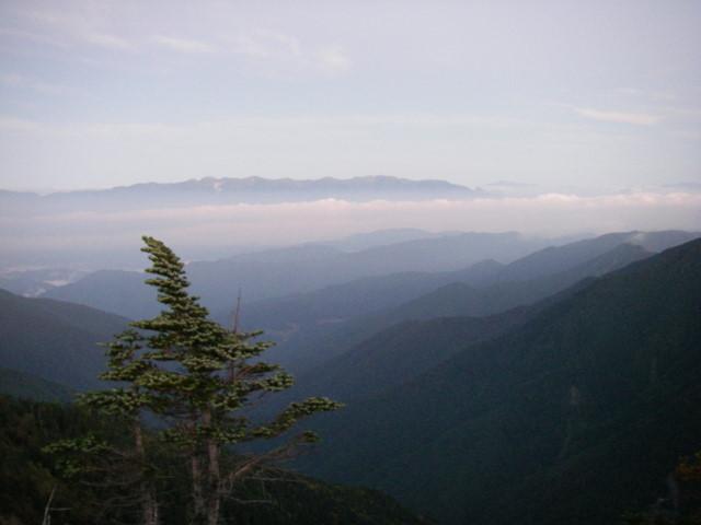 塩見岳~雪投沢~東俣(H19.10.6~8) 035