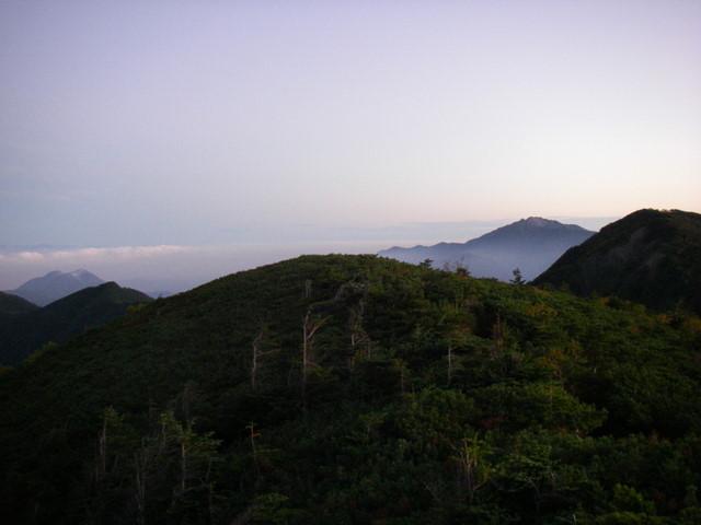 塩見岳~雪投沢~東俣(H19.10.6~8) 041