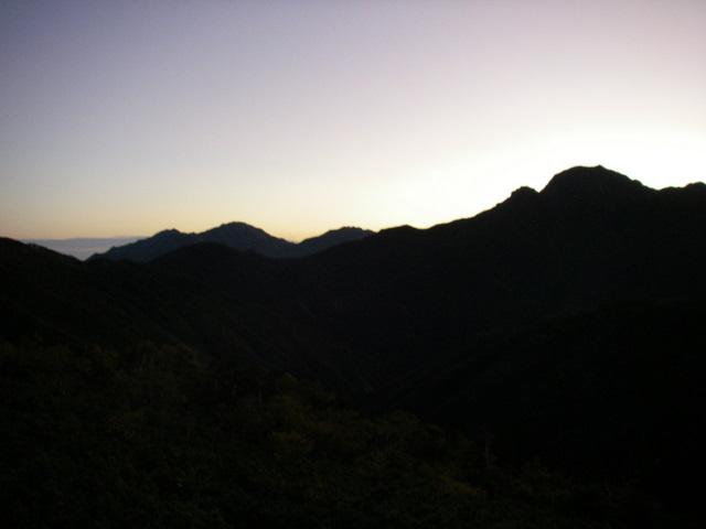 塩見岳~雪投沢~東俣(H19.10.6~8) 040