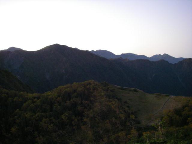 塩見岳~雪投沢~東俣(H19.10.6~8) 039