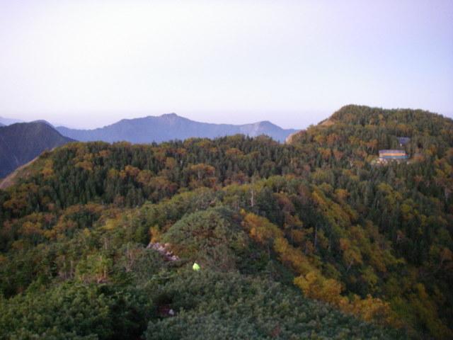 塩見岳~雪投沢~東俣(H19.10.6~8) 038