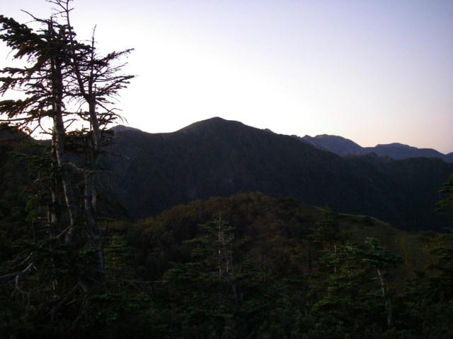 塩見岳~雪投沢~東俣(H19.10.6~8) 036