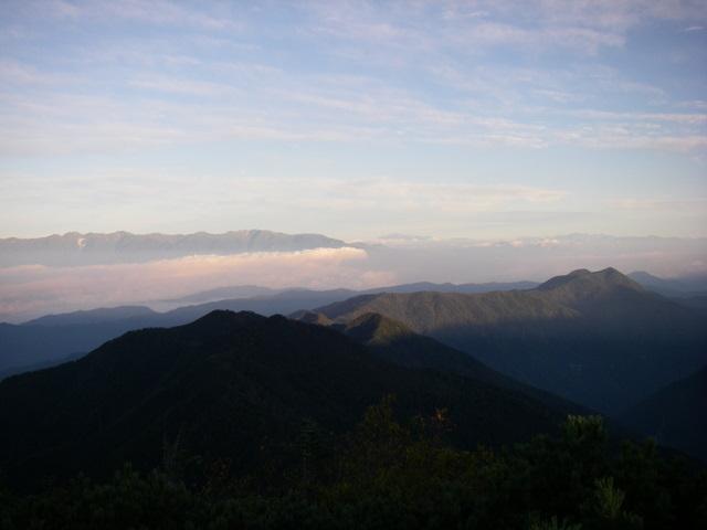 塩見岳~雪投沢~東俣(H19.10.6~8) 047