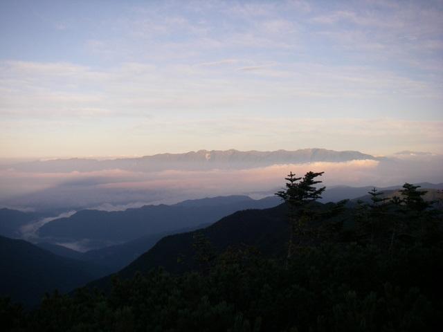 塩見岳~雪投沢~東俣(H19.10.6~8) 045