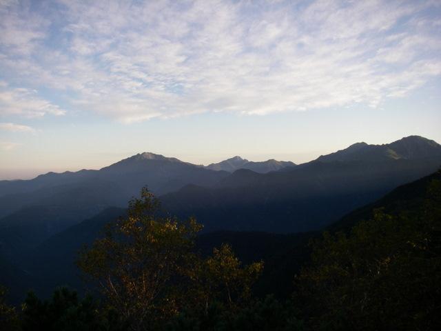 塩見岳~雪投沢~東俣(H19.10.6~8) 046