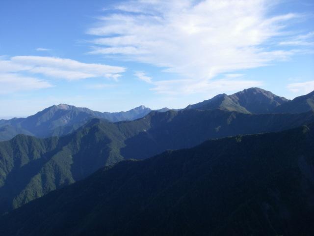 塩見岳~雪投沢~東俣(H19.10.6~8) 057