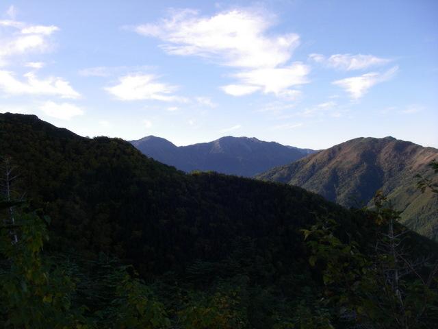 塩見岳~雪投沢~東俣(H19.10.6~8) 056