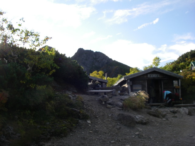 塩見岳~雪投沢~東俣(H19.10.6~8) 065