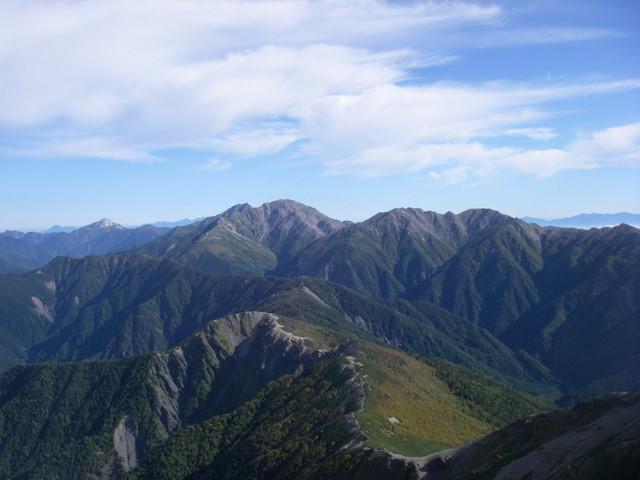 塩見岳~雪投沢~東俣(H19.10.6~8) 072