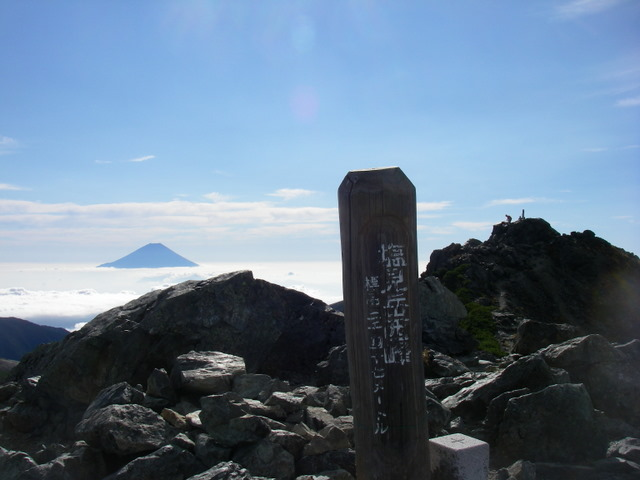 塩見岳~雪投沢~東俣(H19.10.6~8) 070