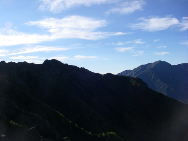 塩見岳~雪投沢~東俣(H19.10.6~8) 067