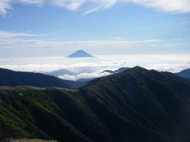 塩見岳~雪投沢~東俣(H19.10.6~8) 078