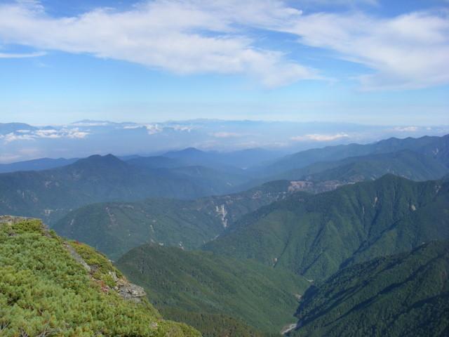塩見岳~雪投沢~東俣(H19.10.6~8) 076