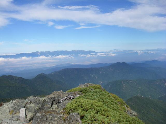 塩見岳~雪投沢~東俣(H19.10.6~8) 075