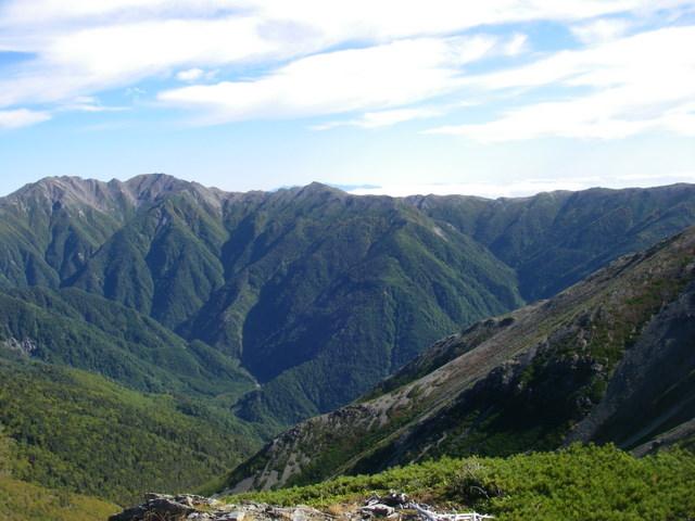 塩見岳~雪投沢~東俣(H19.10.6~8) 084