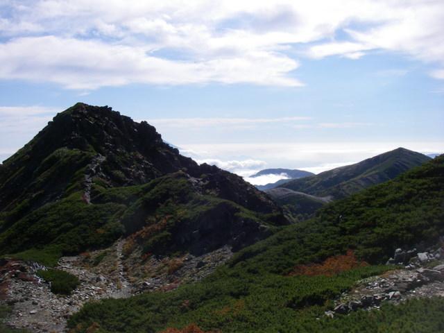 塩見岳~雪投沢~東俣(H19.10.6~8) 082