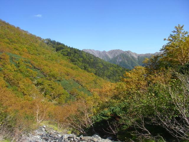 塩見岳~雪投沢~東俣(H19.10.6~8) 097