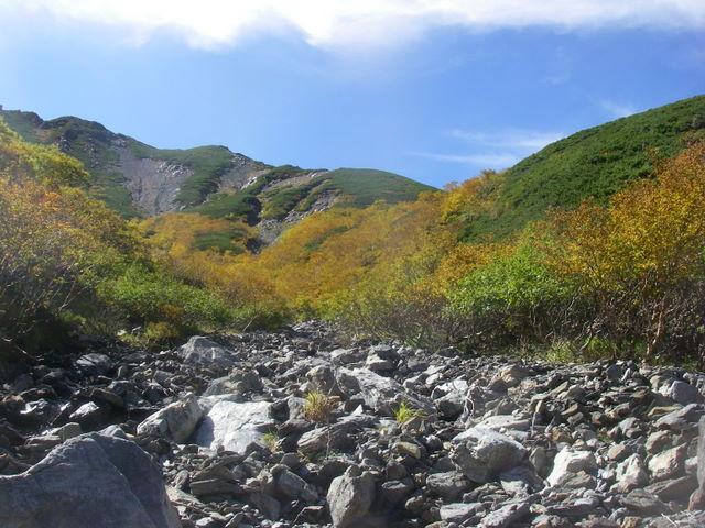 塩見岳~雪投沢~東俣(H19.10.6~8) 095