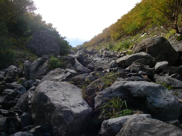 塩見岳~雪投沢~東俣(H19.10.6~8) 099