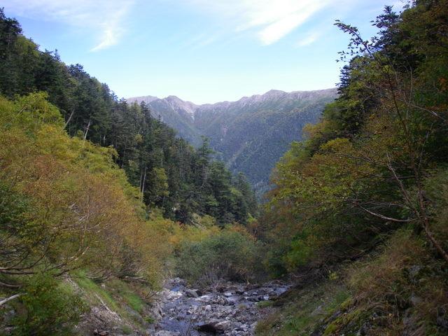 塩見岳~雪投沢~東俣(H19.10.6~8) 105