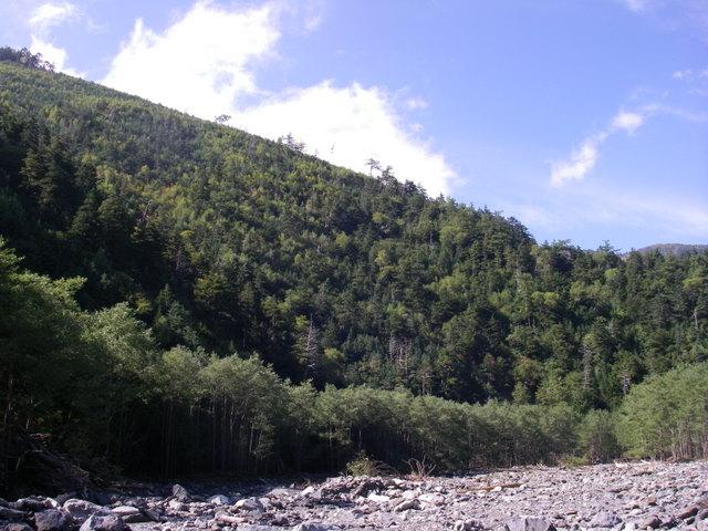 塩見岳~雪投沢~東俣(H19.10.6~8) 121