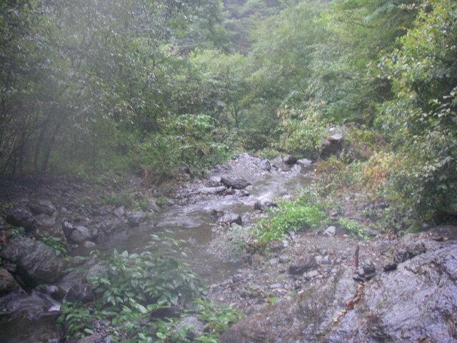 塩見岳~雪投沢~東俣(H19.10.6~8) 159