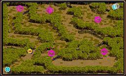 スモーキー諸島 密林地帯 マップ