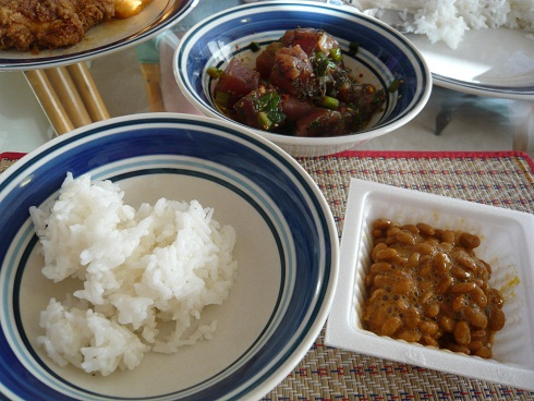 Hawaiiの夕飯1