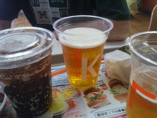 ビールらんち