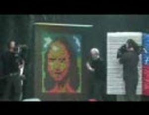 「モナリザ」を0.008秒で描く実験