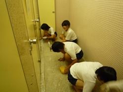 トイレ掃除 2