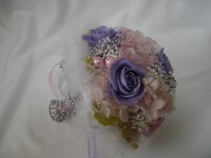 プチブーケ 紫