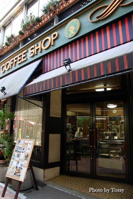 老舗の喫茶店