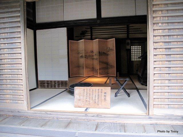 武家屋敷式台玄関