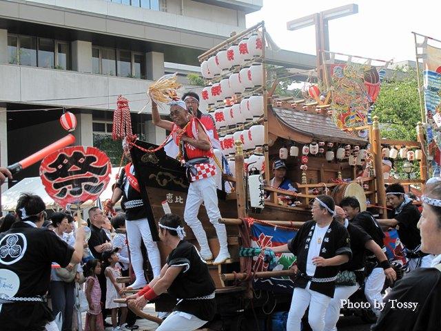 福応神社の船だんじり